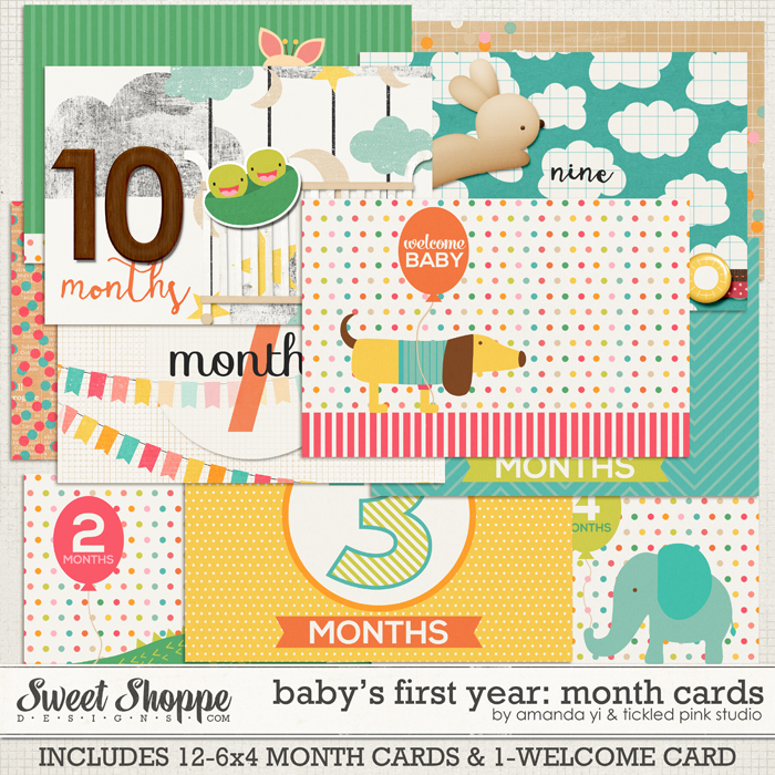 tickledpink-babysfirstyear-monthcardspreview