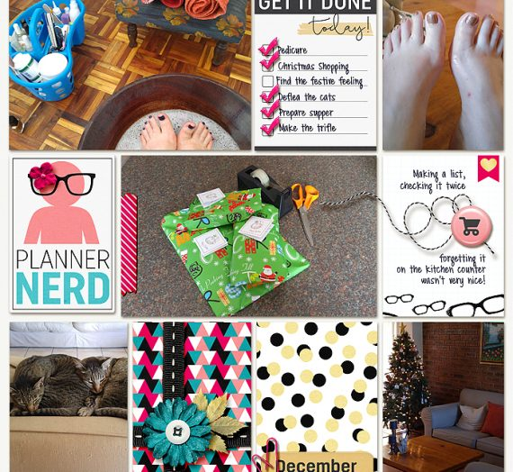 Tutorial Tuesday: creating All About Me layouts