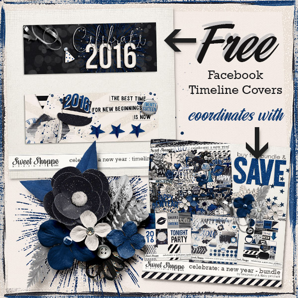 Freebie Timeline Covers – New Years!