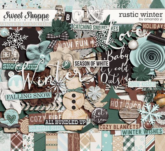 New Releases: Rustic Winter and Celebrate A New Year