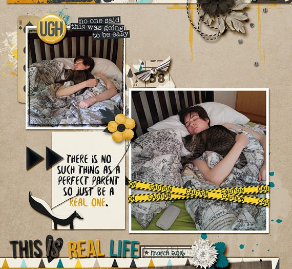 Tuesday Tutorial: ScrapBooking 1,2,3