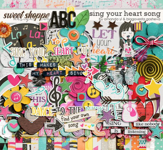 New Release: Sing your heart song