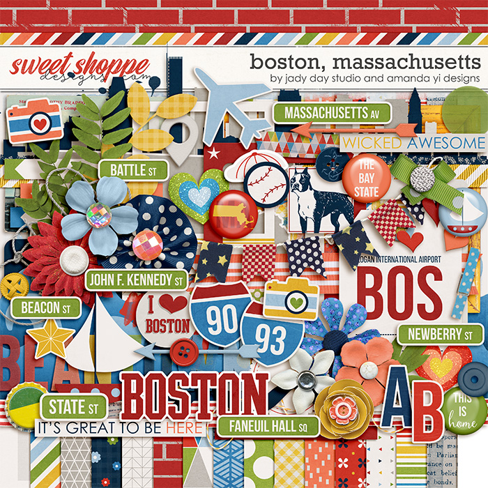 New Release: Boston, Massachusetts!
