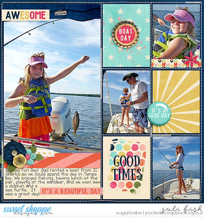 Good Times - Boat Day by julifish | It's A Good Day : Bundle by Amanda Yi & Sugary Fancy
