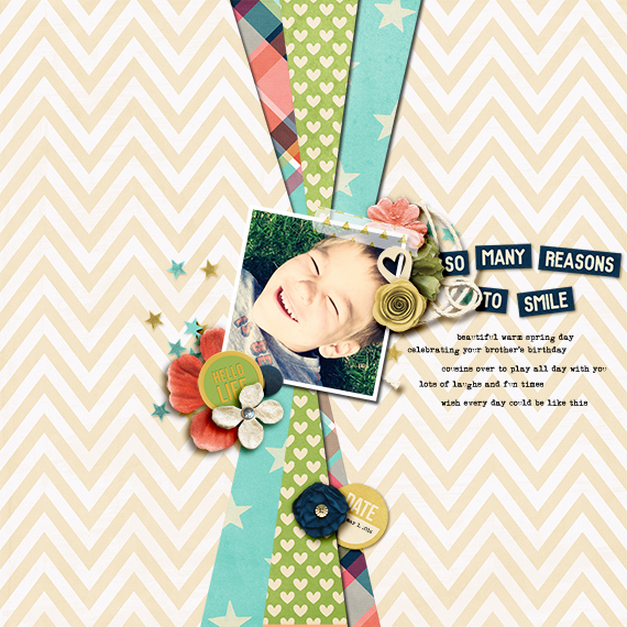 So Many Reasons by bcnatty | Amanda Yi Designs It's A Good Day Collab with Sugar Fancy