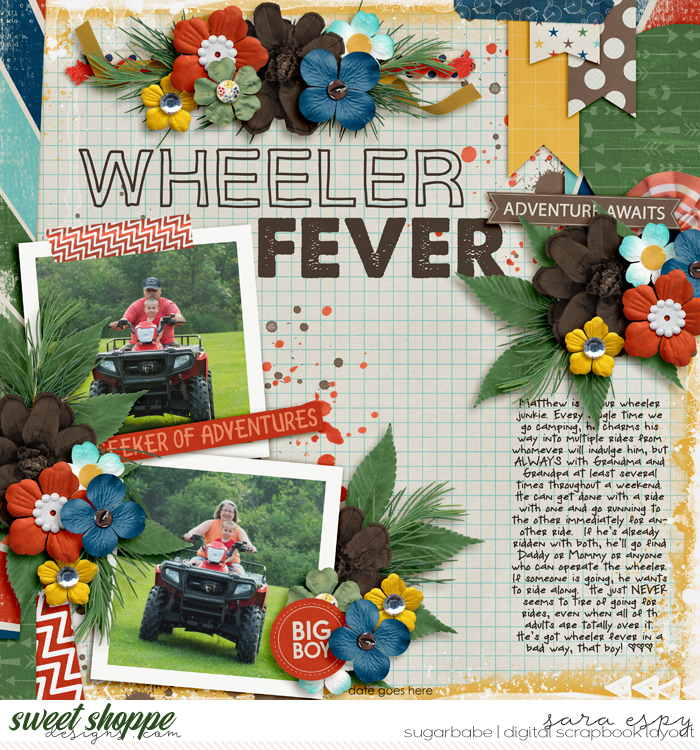 Wheeler Fever by misfitinmn