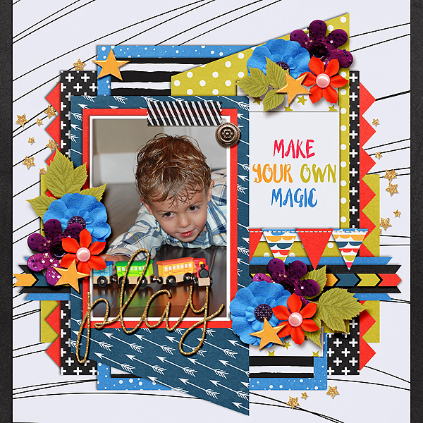 Motivation Monday: Single Photo Layouts