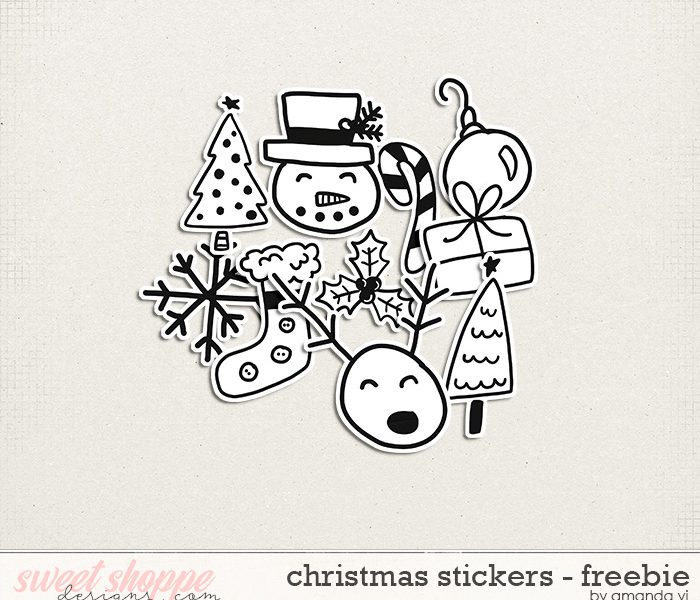 Merry Christmas! New Freebie!
