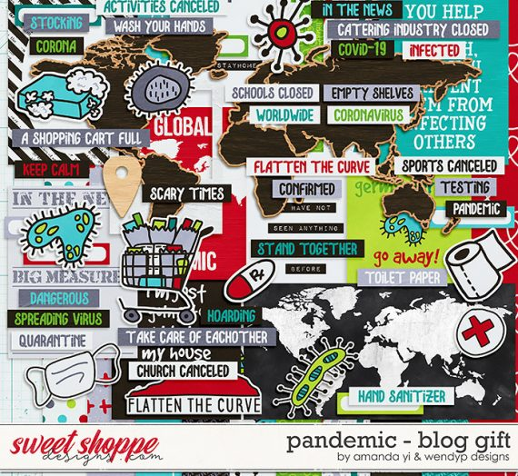 Pandemic – New blog gift FREEBIE with WendyP Designs!